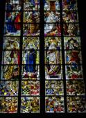 Igreja vitral — Foto Stock