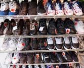 Diverse shoes — Stock Photo