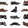 Male shoes collection — Stock Photo #55710909