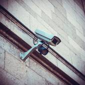 Security Camera on building — Stock Photo