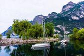 Beautiful lake Garda — Stock Photo