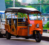 Popular tricycle in Thailand — Stock Photo