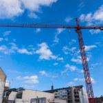 Building crane on constraction — Stock Photo #61251061