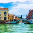 Buildings and canals in Venice — Stock Photo #61251599