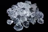 Ice cube crystals — Stock Photo
