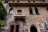 Romeo balcony in Verona — Stock Photo