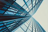 Modern glass skyscraper — Stock Photo