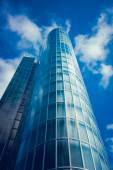 Glass business building — Stock Photo