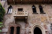 Balcony of Romeo and Juliet — Stock Photo