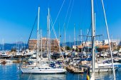 ヨットやボート港 — ストック写真
