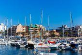 Harbor of Palma de Mallorca — Stock Photo