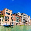 Buildings and canals in Venice — Stock Photo #65083595
