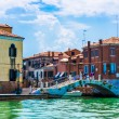 Buildings and canals in Venice — Stock Photo #65083633