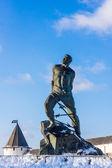 Monument to Musa Dzhalil — Stock Photo