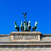 Brandenburg Tor detail — Stock Photo