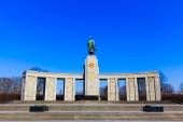 Pomnik radzieckich żołnierzy — Zdjęcie stockowe