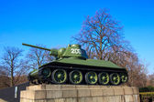 Soviet War Memorial — Zdjęcie stockowe