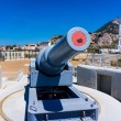 Постер, плакат: Exhibit guns in Gibraltar
