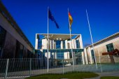 German Chancellery in Berlin — Stock Photo