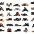 Collection of male shoes — Stock Photo #74063207
