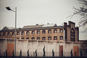 Jail.  Large prison. — Stock Photo