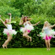 Group of friends jumping — Stock Photo #76475485