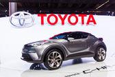 Toyota C-HR Concept - world premiere — Stock Photo