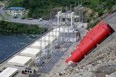 African hydroelectric power station — Stock Photo