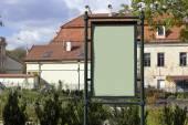 Retro style empty billboards — Foto Stock