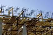 Construção de madeira — Foto Stock