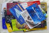 Discount Russian cards under pressure of the American sanctions  — Stock Photo