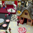 Christmas  decorations in hypermarket — Stock Photo #60502339