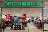 Deichmann shoes store — Stock Photo