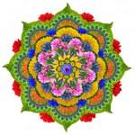 Sacred Lotus mandala — Stock Photo #66460893
