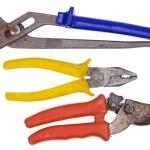 Rusty used tools set — Stock Photo #68350509