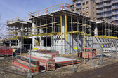 Sunny  construction day — Stock Photo
