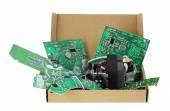 Electronics for utilization — Stock Photo
