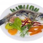 Norwegian herring comic isolated concept — Stock Photo #74078929