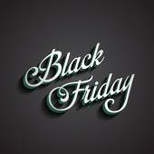 Black Friday type calligraphic typography. Sale Discount Calligr — Stock Vector