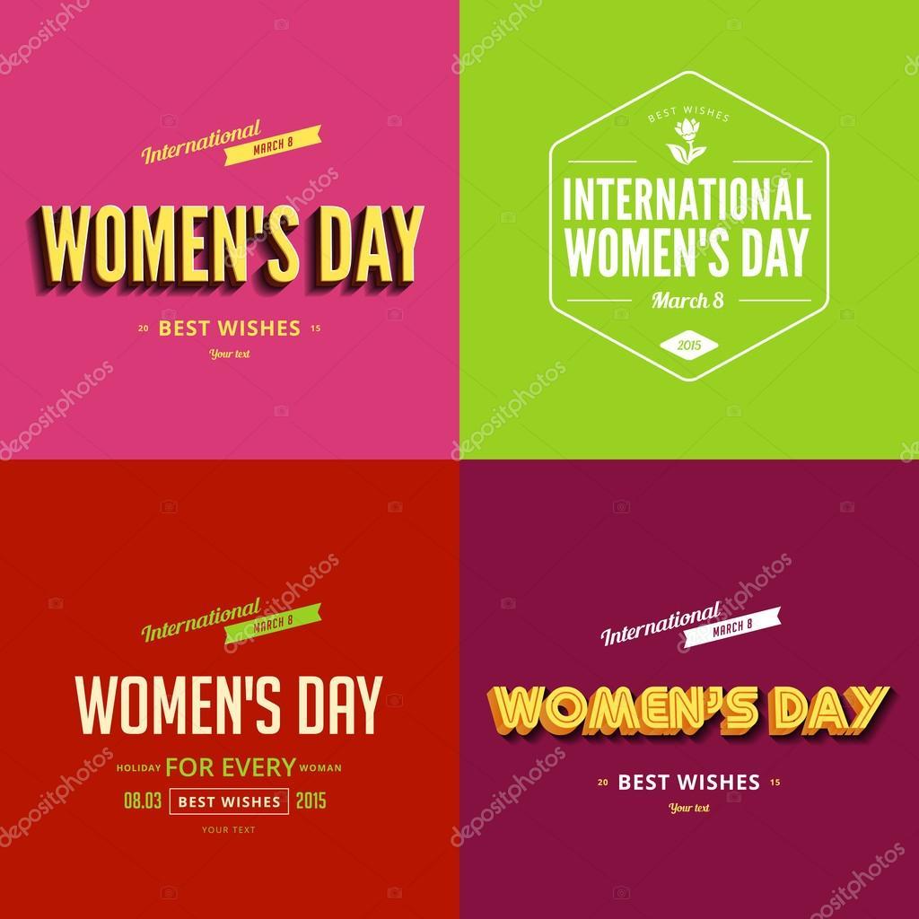 国际劳动妇女节 8 3 月排版海报模板