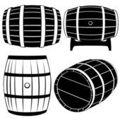 Barrels — Stock Vector