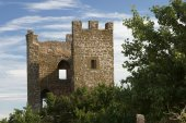 Medieval Genoese stronghold — Stock Photo