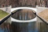 Small bridge — Stock Photo