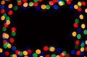 Light spot frame — Stock Photo
