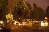 Tumbas en el cementerio — Foto de Stock