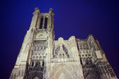 Gothic facade of the Saint-Pierre-et-Saint-Paul Cathedral — Stock Photo