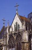 Stone details of a Gothic church — Zdjęcie stockowe