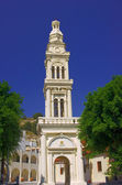 Bell tower ortodoxa kyrkan — Stockfoto