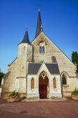 Medieval parish church — Stock Photo
