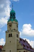 Neo-Renaissance clock tower of the church — ストック写真